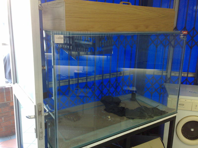 Opinion on 2nd hand tank | Tropical Aquariums SA
